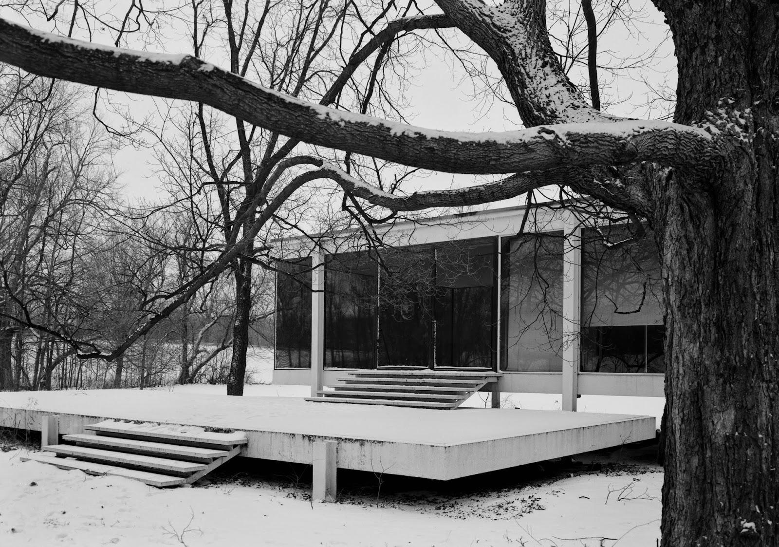blog de phaco farnsworth house le minimalisme. Black Bedroom Furniture Sets. Home Design Ideas