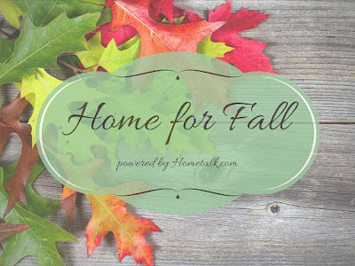 Home Talk Blog Hop-Home For Fall -From My Front Porch To Yours