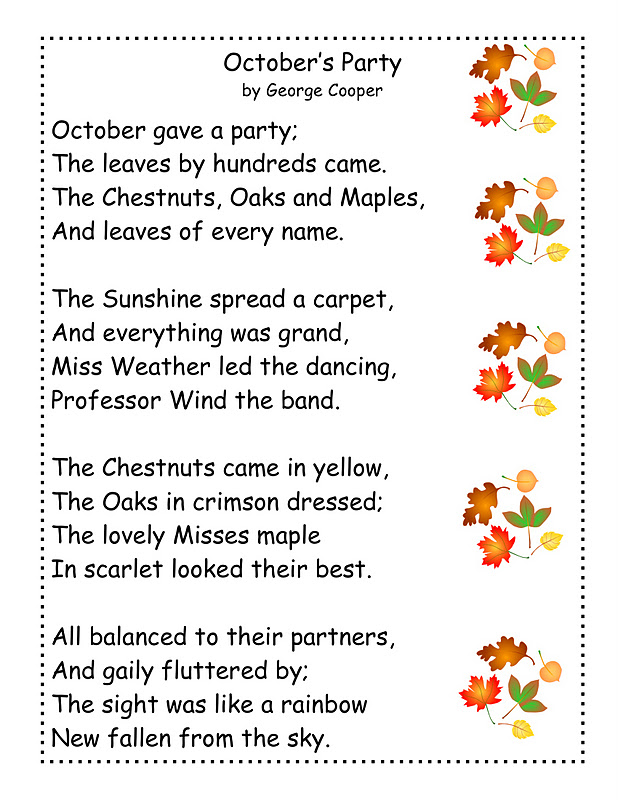 Harvest poems for kids quotes lol rofl com