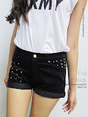 Studded shorts