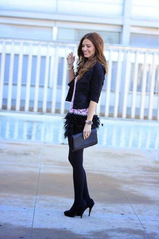 outfit_blogger_fashion_dress_vestido_plumas_moda_estilo