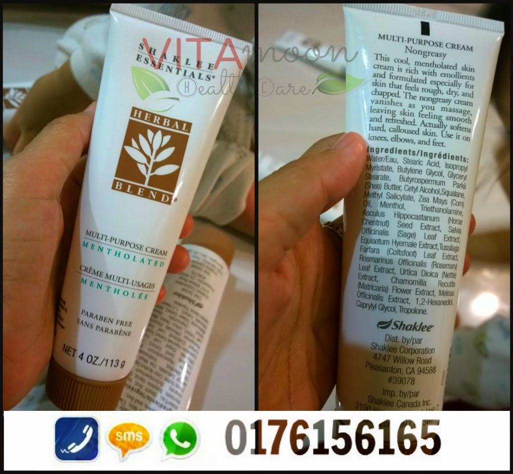 herbal blend cream