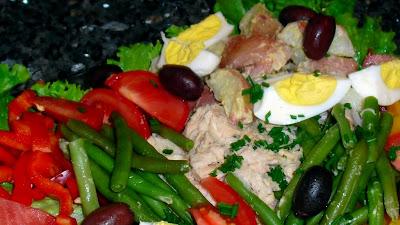 Салата Ницца - Кулинарный рецепт - Французская кухня - Ресторан дома