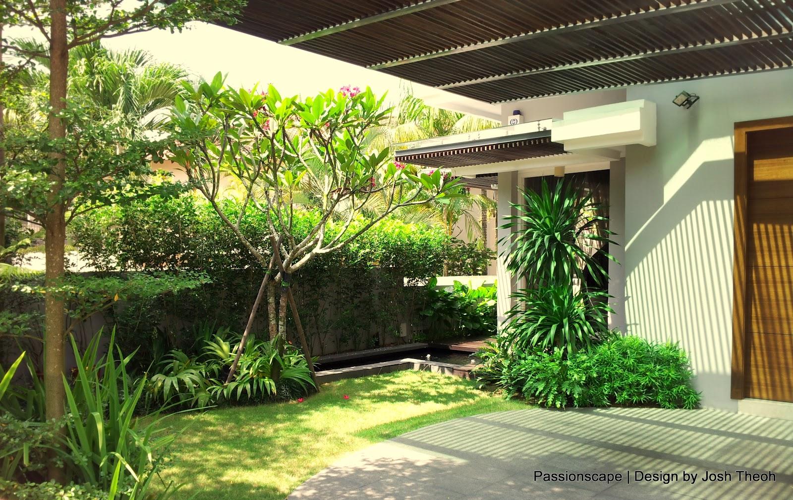 Singapore Landscape Design Garden the common denominator