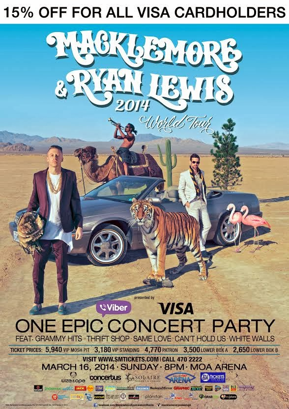 Macklemore and Ryan Lewis in Manila