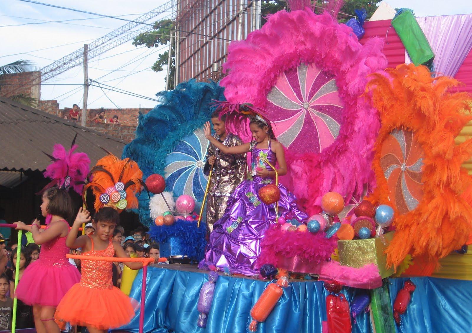Reina Infantil Del Carnaval Las Deliciasmaria Alejandra Ganoza Cacho