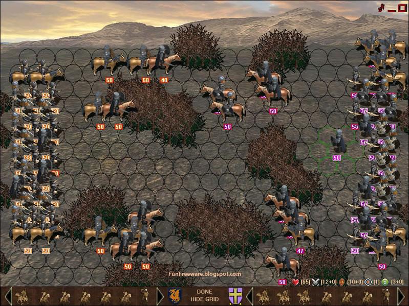 Knights of War Screenshot Image