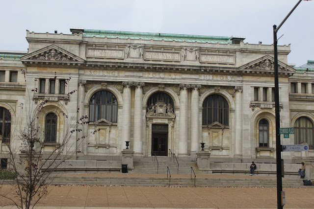 Washington Public Library in Washington DC, USA