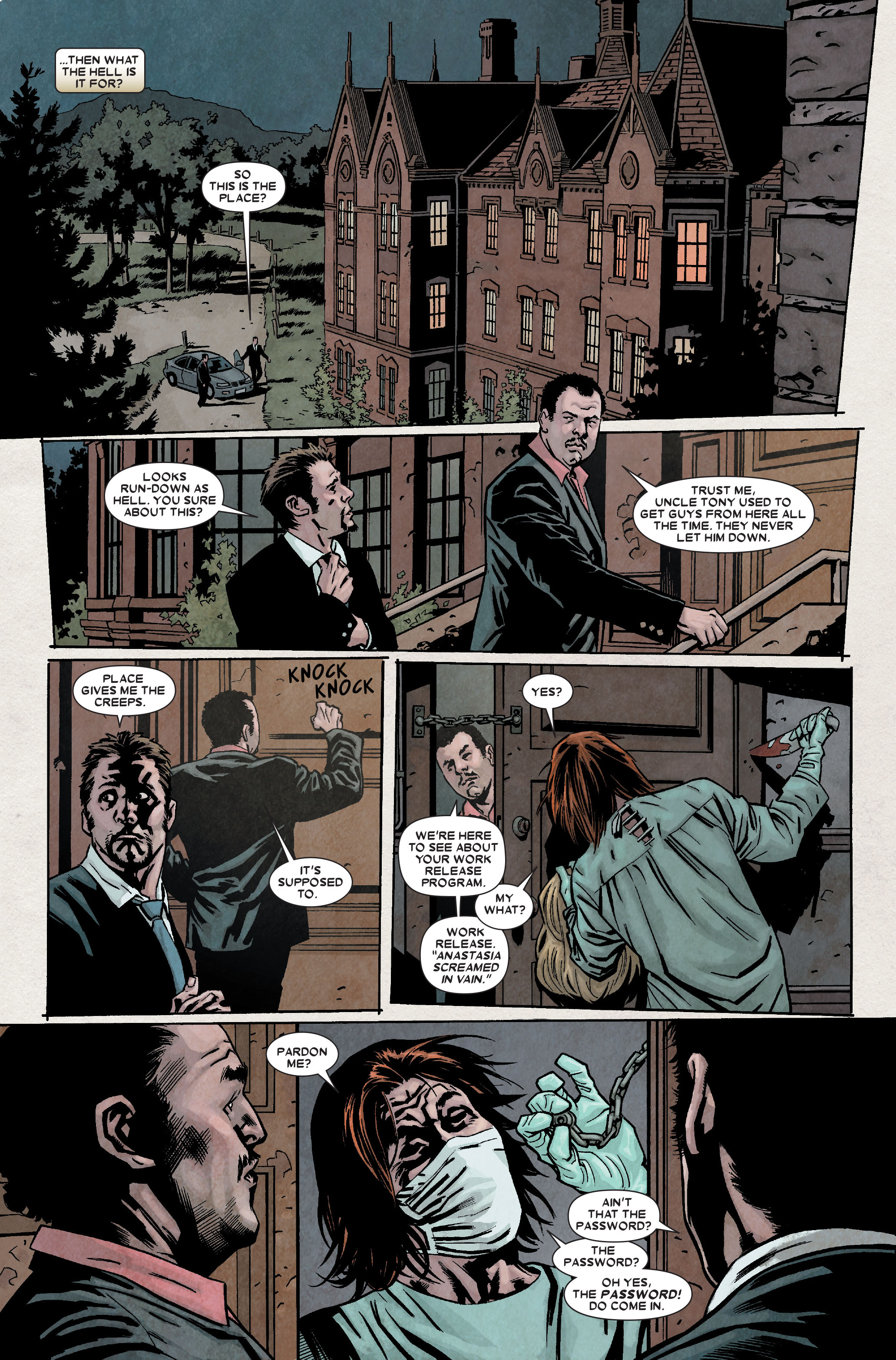 Wolverine: Weapon X #7 #10 - English 11