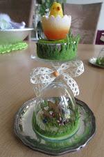 "Oster-Deko... Kerzenständer ""handmade""..."