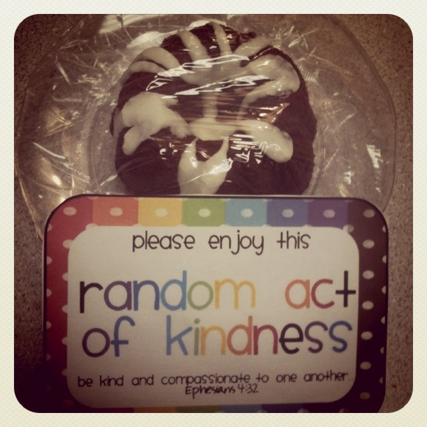 40th Birthday Random Acts Of Kindness: Sweet Blessings: My 41 Random Acts Of Kindness