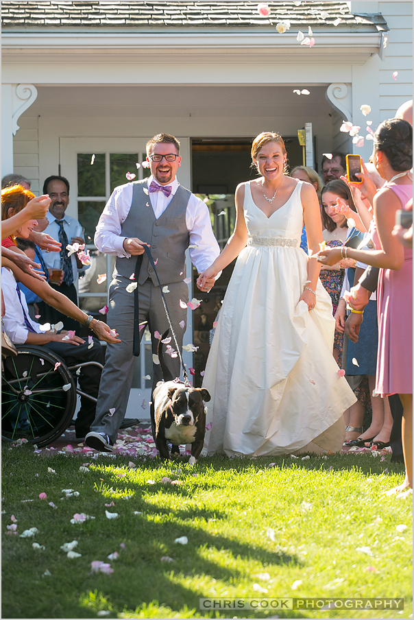 Cape Cod wedding blog photo from Chris Cook Photography about Christine & Fred – Captain Linnell House – Cape Cod Wedding