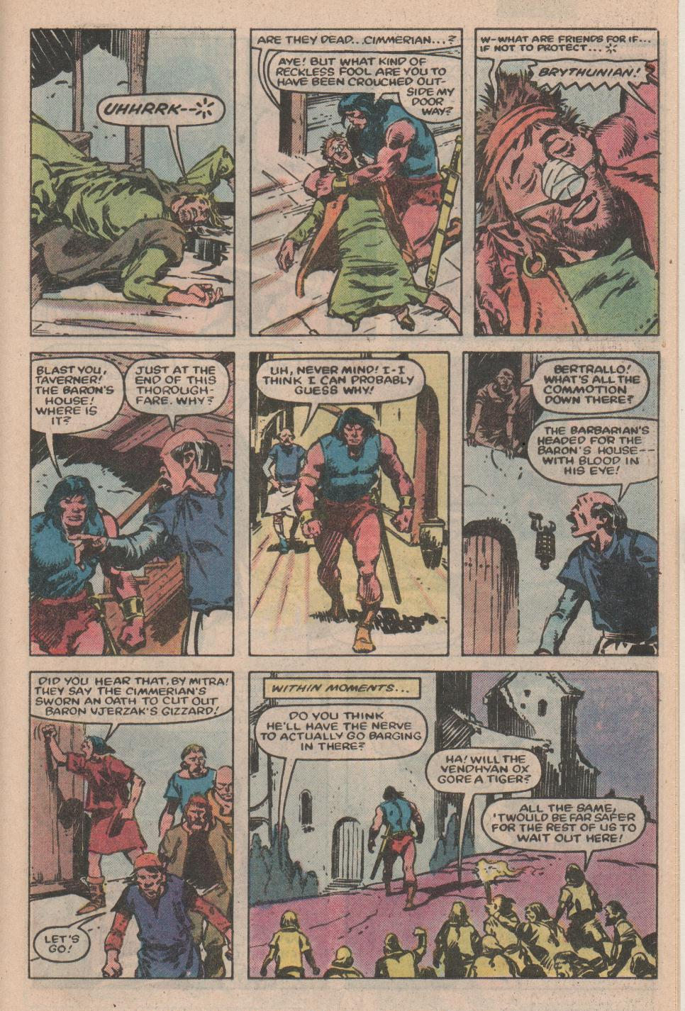 Conan the Barbarian (1970) Issue #155 #167 - English 18