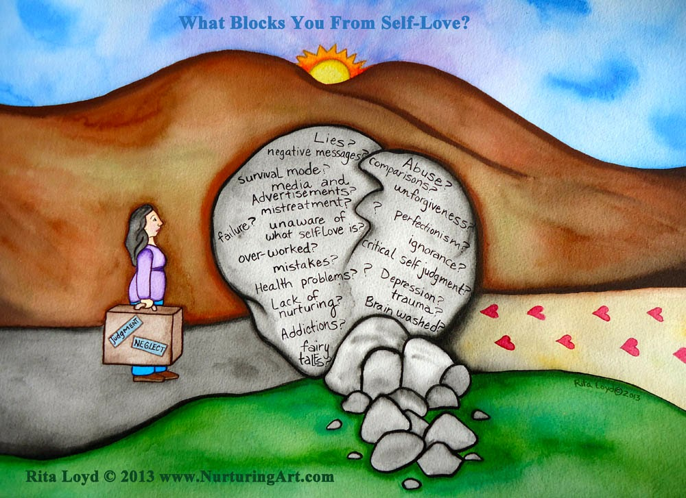 Manel Blanco : Learning Self-Love: Week 2. Closing Down.