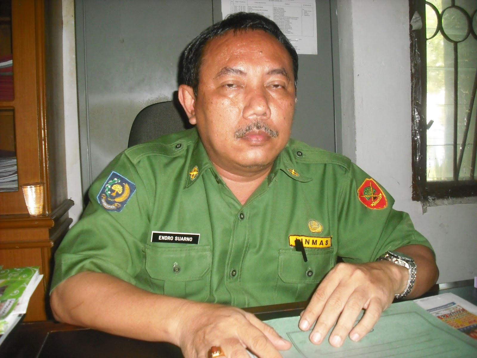 Endro Suarno Inspektur Inspektorat OKI Yang Baru