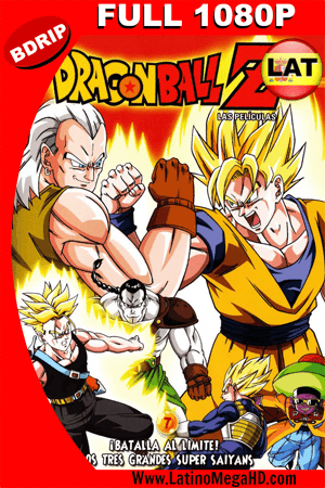 Dragon Ball Z: La pelea de los 3 Saiyajin (1992) Latino Full HD BDRIP 1080P ()