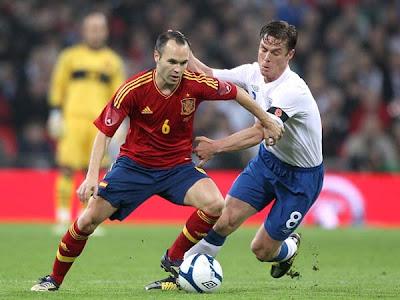 England 1 - 0 Spain (2)