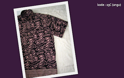 Baju Batik Pria 23C