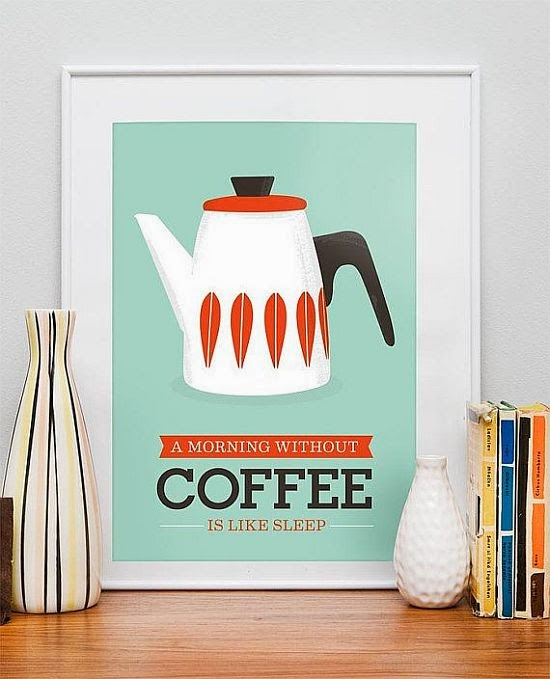 picture about coffee - morning without coffee is like sleep