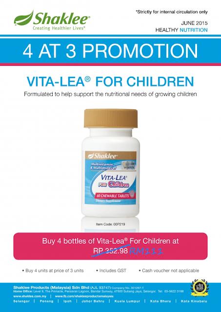 multivitamin kanak-kanak, promosi vitamin, vitamin free
