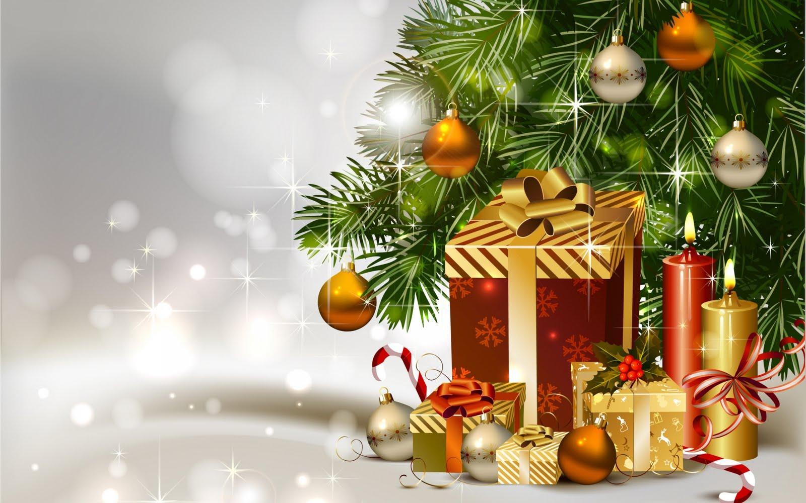 regalos bajo el rbol de navidad
