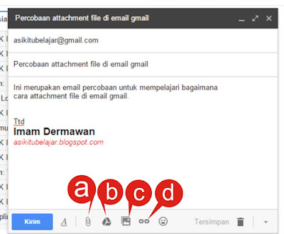 Cara Attachment File Di Email
