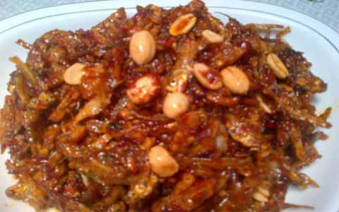 Resep Sambal Tempe Teri Kacang