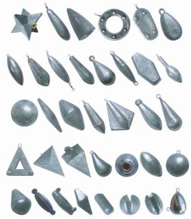 Terminal tackles part 3 sinkers the anglers for Inline fishing weights