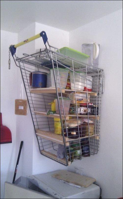 Тележка супермаркет что можно сделать