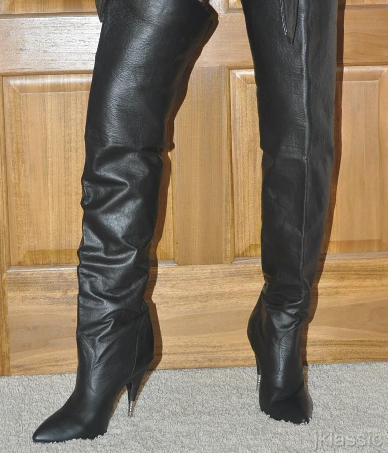 ebay leather vintage metal heel boots snapped up for 175