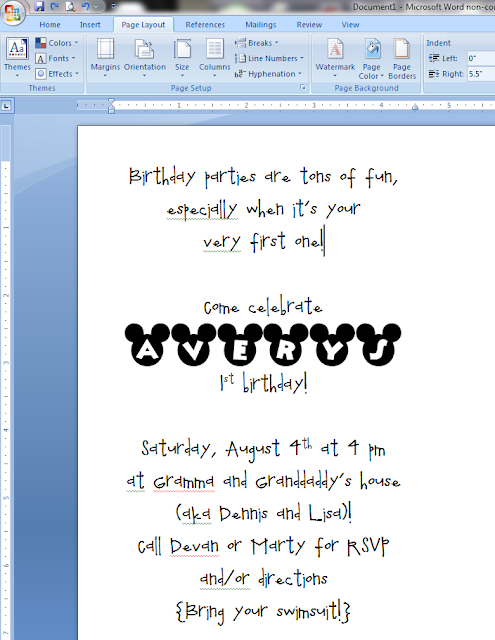 how to make wedding invitations on microsoft word images party
