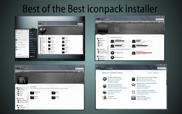 Custom Icon Pack | WhItE hAcKeRs