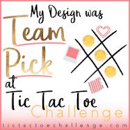 Tic Tac Toe...Team Pick