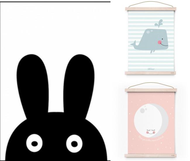 Mcompany style 7 webs de l minas infantiles para decorar for Laminas para cuadros estilo nordico