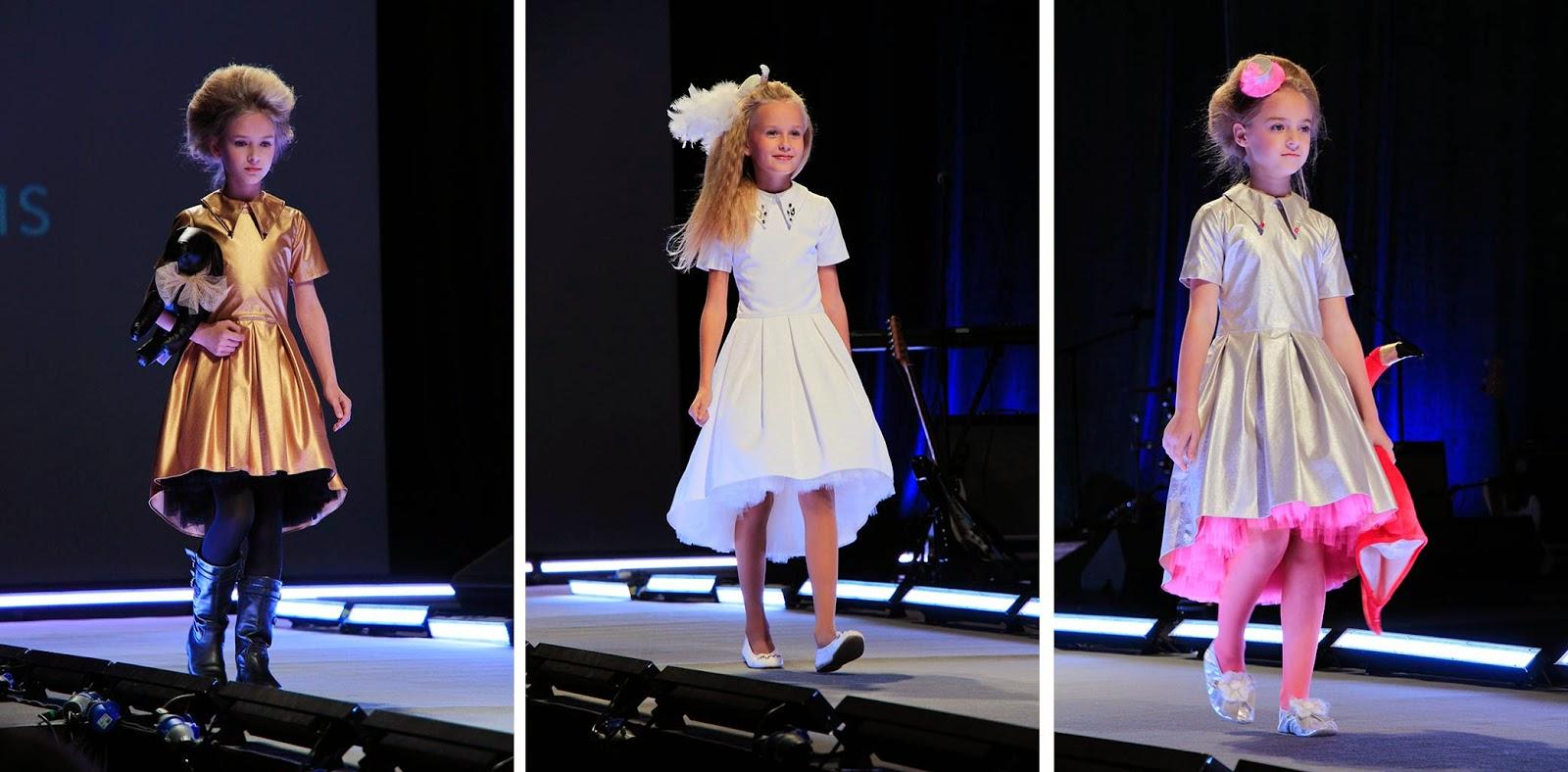 Фото детские показы моды