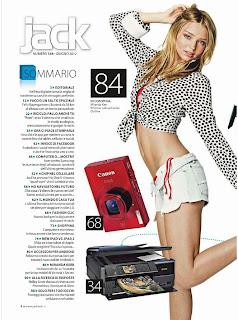 Miranda Kerr Magazine Cover, Miranda Kerr Jack Magazine Cover