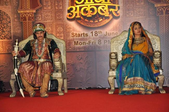 Zee TV Serial jodha akbar launch photo