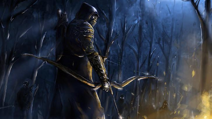 Nightblade Archer Art