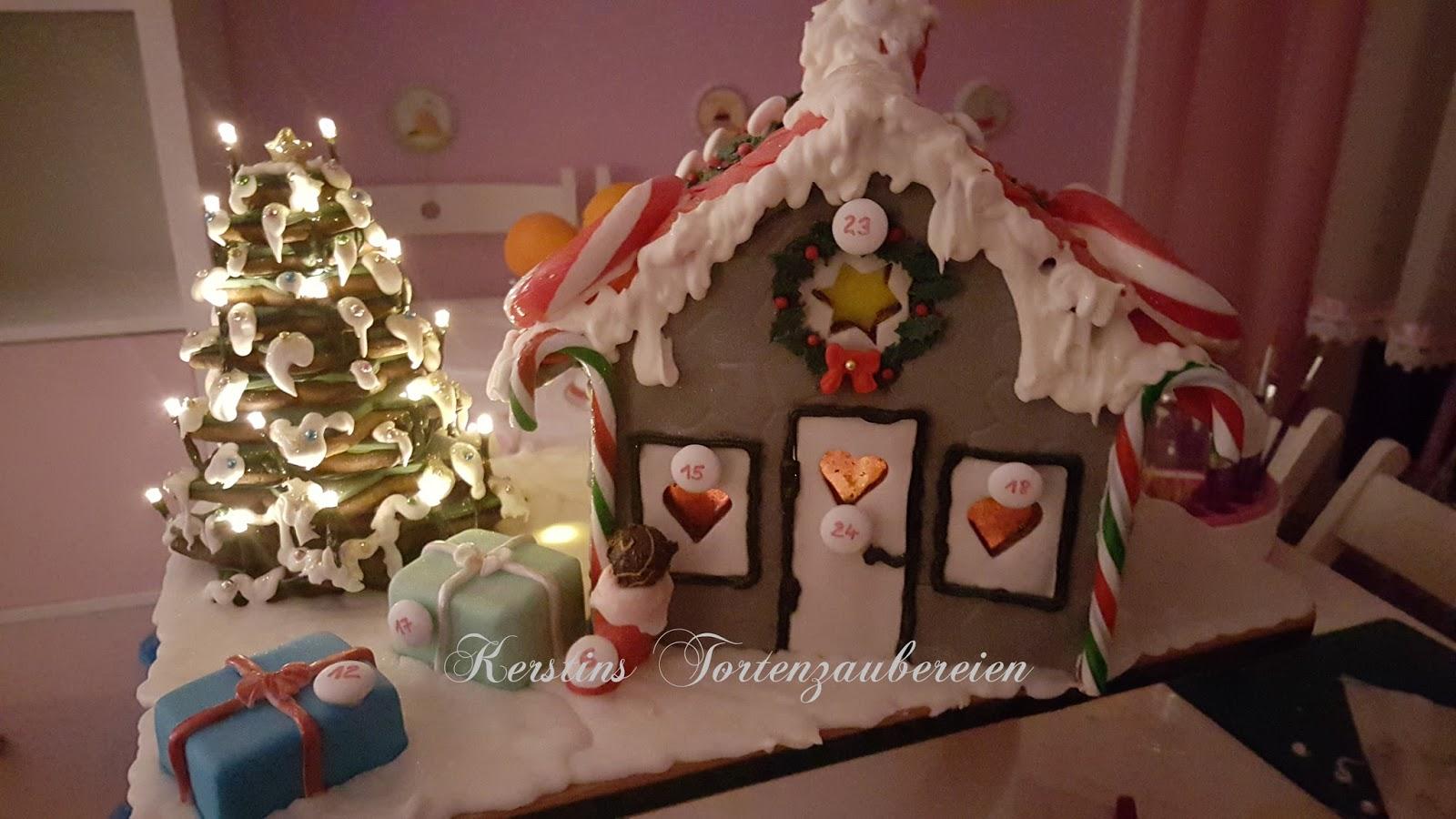 kerstins tortenzaubereien lebkuchenhaus adventskalender. Black Bedroom Furniture Sets. Home Design Ideas