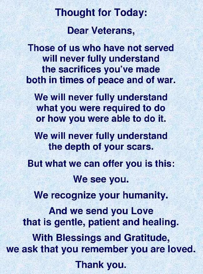 veterans day poems thank you veterans 2016