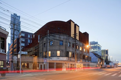 Neri&Hu, the waterhouse Hotel, Fassade