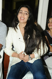 Actress Charmi Kaur Pictures in Jeans at One by Two Movie Celetes 20 Years Event  0152