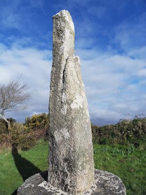 The Tristan Stone, Fowey, Cornwall