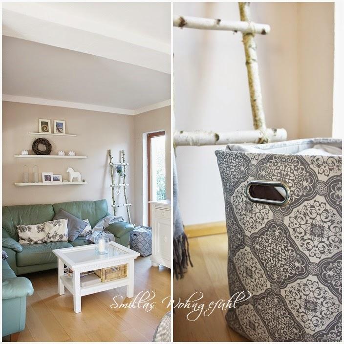 smillas wohngef hl diy holzleiter aus birkenzweigen. Black Bedroom Furniture Sets. Home Design Ideas