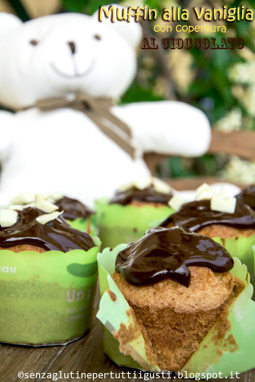 Senza Glutine Per Tutti I Gusti!: Muffin Alla Vaniglia Senza Glutine  #362F10 1024 1536 Cucina Mediterranea Senza Glutine Pdf