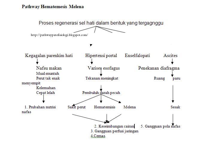 Pathway Hematemesis Melena - Pathway Patofisiologi