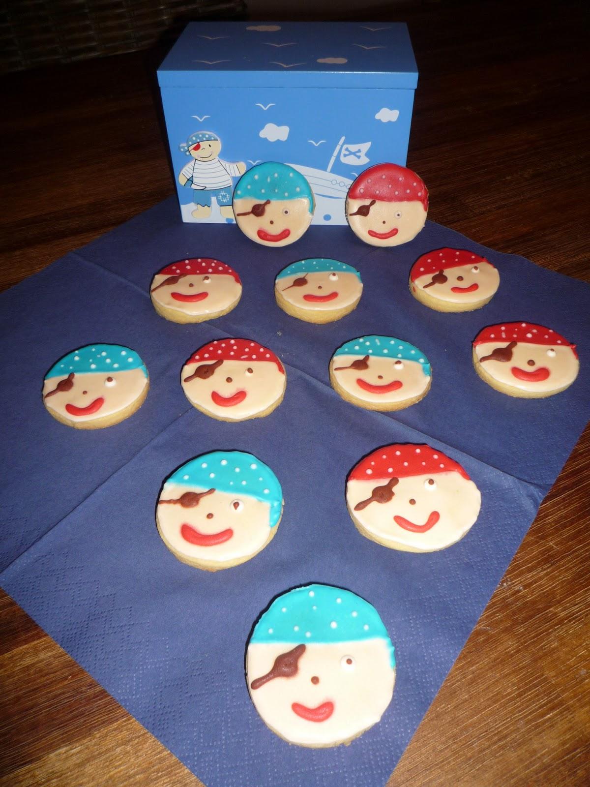 Piraten-Kekse, Kekse, Royal Icing