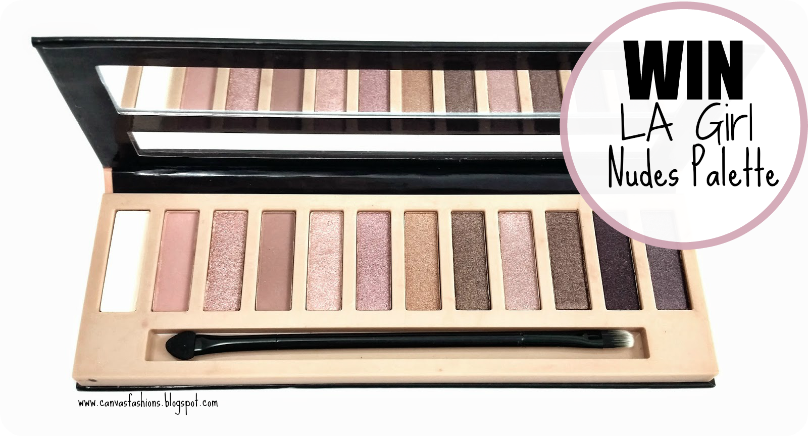 Giveaway LA Girl Nudes Palette, giveaway, LA Girl, Nudes Palette, Urban Decay Naked, Urban Decay Dupe, Giveaway, South Africa blogger, South african beauty, beauty blogger, beauty products, beauty, sa beauty, nudes palette, nudes, eyeshadow