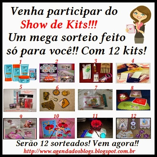 Sorteio de Kits da Agenda dos Blogs!