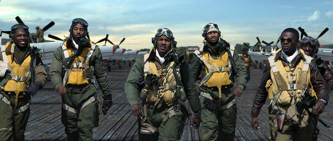 still from Red Tails